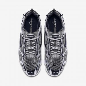 Stussy & Nike – Air Zoom Spiridon Grey (2)